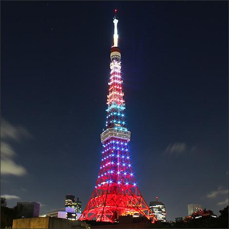 20160811東京タワー ライトアップ