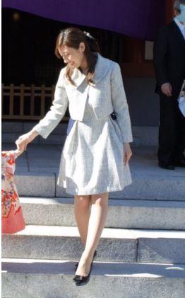 妊娠中ママの七五三ファッション☆おすすめフォーマルツイードスーツ