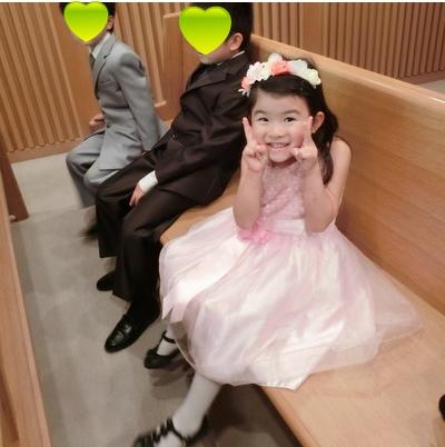 4歳 結婚式