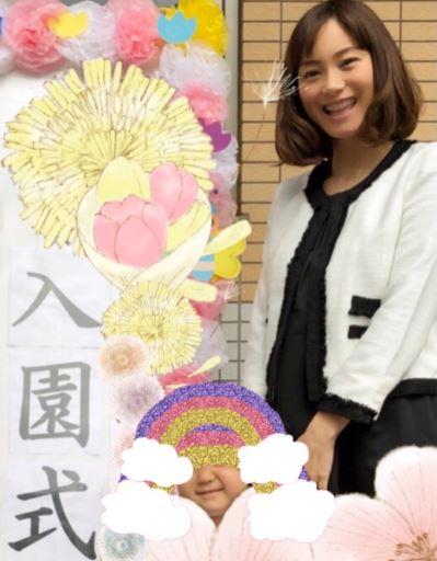 蛯原英里さんがお手本☆入園式コーデ~ツイードジャケット&シンプルワンピ~